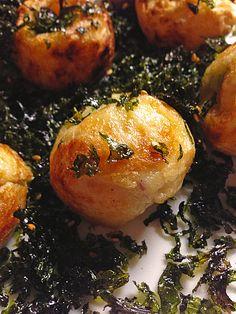 Takoyaki (Oktopusbällchen), ein tolles Rezept aus der Kategorie Fisch. Bewertungen: 6. Durchschnitt: Ø 4,0.