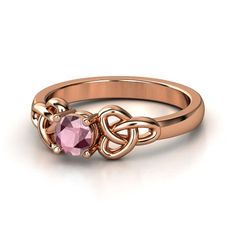 Or this one. I really like Rose Gold.  Round Rhodolite Garnet 14K Rose Gold Ring | Katarina Ring (5mm gem) | Gemvara