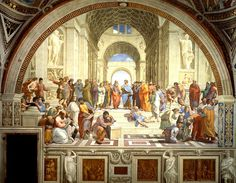 There's a Party in the Art Room!: Art That Makes You Smarter- The School of Athens