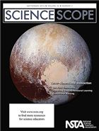 "The September issue of Science Scope is now online! In this issue, we show you how to make sure your teaching exemplifies Three-Dimensional Instruction. Also be sure to check out this month's free article, ""The Controversy Over Pluto: Planet or Astronomic Oddball?"""