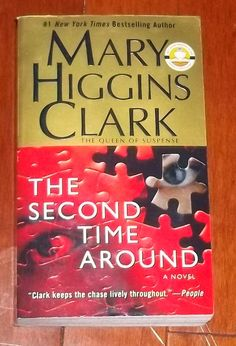 The Second Time Around by Mary Higgins Clark Paperback) for sale online Good Books, Books To Read, My Books, Mary Higgins Clark, Mass Market, New York Times, Bestselling Author, Two By Two, Novels