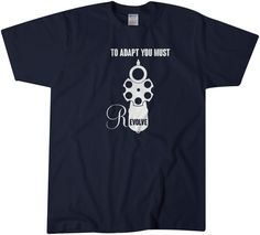 To Adapt you must Revolve Pistol t shirt Tee by LocknLoadTees
