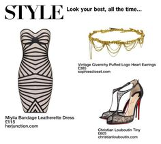 The T Collection #19 by lauriextaylor on Polyvore featuring polyvore, fashion, style, Christian Louboutin and Jennifer Behr