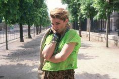 Madonna dans le jardin des Tuileries