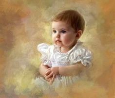 #Children#Art#Richard Ramsey~Pretty Baby