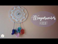Atrapasueños a crochet Crochet Dreamcatcher, Crochet Mandala, Doily Dream Catchers, Crochet Tablecloth, Print Wallpaper, Crochet Squares, Bold Prints, Doilies, Crochet Projects