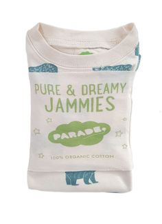 """Our """"My Jammies"""" collection is made of incredibly soft GOTS certified organic cotton, featuring brand new exclusive hand printed Parade designs. Organic Baby Clothes, Sustainable Clothing, Organic Cotton, Brand New, Pure Products, Fashion Outfits, Printed, Kids, Shopping"""