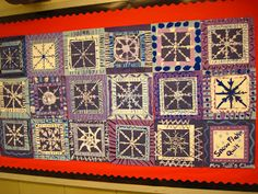 Lines, Dots, and Doodles: Snowflake Quilt, 3-5th Grade