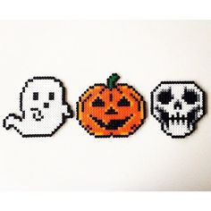 Halloween perler beads by pixelstorebr