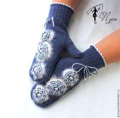 Crochet Gloves, Knitted Hats, Knit Crochet, Sweater Mittens, Cute Scarfs, Crochet Designs, Hand Warmers, Knitting Patterns, Finger
