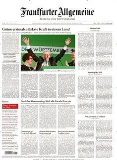 Die Grünen gewinnen in BW - SPD überholt CDU in RP - AfD in allen drei Ländern stark - Hohe Wahlbeteiligung. Alle Hintergründe, Prognosen & mehr in der aktuellen FAZ heute gratis beim #epaperMonday lesen. Der Gutscheincode ist dieses Mal WAHL.  Und hier geht's zum Magazin: https://www.united-kiosk.de/epaperMonday  PS: Am besten gleich die Aktion teilen und weitersagen!