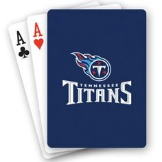 NFL Tennessee Titans Playing Cards by PSG. $2.50. NFL Tennessee Titans Playing Cards