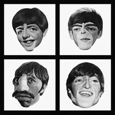 The Beatles by Patrick Seymour, via Behance