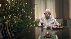 Weihnachtswerbung mit einsamen Rentner wird zum Internethit