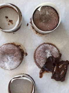 Moelleux Au Chocolat (Molten Chocolate Cake) | My Cooking Hut