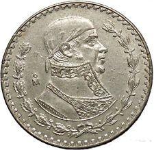 1959 Mexican Independence War HERO Jose Maria Morelos Peso Coin of Mexico i53775 https://trustedmedievalcoins.wordpress.com/2016/03/14/1959-mexican-independence-war-hero-jose-maria-morelos-peso-coin-of-mexico-i53775/