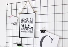 DIY Wire Memoboard Gitter Pinnwand