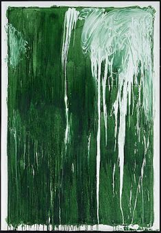 Cy Twombly Untitled IV (Green Paintings) 1986
