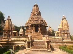 De tempels in khajuraho