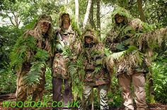 All dressed up on a Sniper Experience at Woodoak Wilderness, Surrey, England UK www.woodoak.co.uk