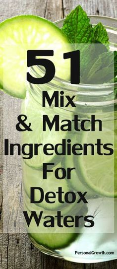 The list of all the ingredients you can mix and match to make your #detox water http://iandarrah.com/