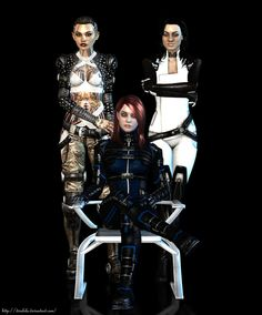 Great render of FemShep - All hail the queen - don_t_mess_with_us_by_divalola-d5ilgeu