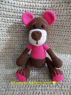MartaZ / maco ružový Teddy Bear, Toys, Animals, Animales, Animaux, Gaming, Games, Toy, Animais