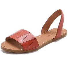 Step into hot style with these slingback sandals.