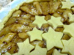 ΜΗΛΟΠΙΤΑ ΧΡΙΣΤΟΥΓΕΝΙΑΤΙΚΗ Apple Pie, Tart, Waffles, Yummy Food, Breakfast, Desserts, Christmas, Morning Coffee, Tailgate Desserts