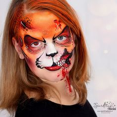 Halloween Men, Halloween 2020, Halloween Face Makeup, Face Painting Designs, Face And Body, Wearable Art, Illusions, Body Art, Faces
