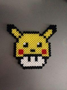 Mushroom Pikachu (Perles Hama / Perler Beads)