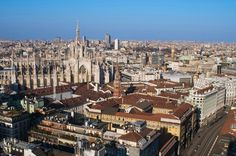 Milan! Our potential start destination (could be Paris, yet to be confirmed). Still yet to work out exactly how we're going to get from here to Berlin with no money. None of us speak Italian!