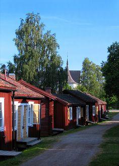 in Lövånger outside Skellefteå (click for photo author). Sweden
