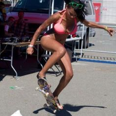 Learn to ride a skate board
