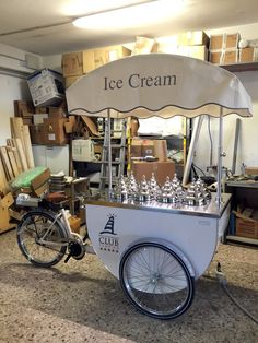 Katerina Ice cream Cart - Jesolo International Club #Tekneitalia Gelato Cart