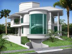 Arquitetura+De+Casas | Linda casa com arquitetura moderna