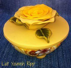Polymer clay box by Liat R, via Flickr