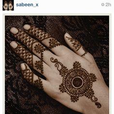 Simple enough henna.