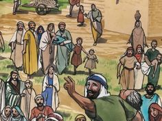 Bible Illustrations, Harvest, Pray, To Go, Lord, Study, Children, Painting, Young Children