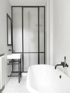 Astounding Unique Ideas: Minimalist Decor Bathroom Tile minimalist home style woods.Minimalist Kitchen List Products contemporary minimalist interior home decor.Minimalist Home Diy Dreams. French Bathroom, Modern Bathroom, Small Bathroom, Bathroom Black, Minimal Bathroom, Bathroom Taps, Taps Bath, Small Sink, White Bathrooms