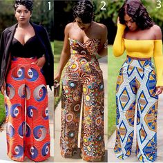 african fashion women ghana African Print fashion trousers for women African Fashion Designers, African Fashion Ankara, African Inspired Fashion, Latest African Fashion Dresses, African Print Fashion, Africa Fashion, African Style, African Ankara Styles, Ghana Fashion