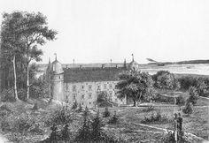 Rosenvold Gods og Slot ved Vejle Fjord mellem Juelsminde og Vejle 1900