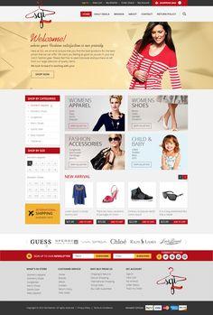 Here's a custom Big Commerce store we designed for popular #apparel seller SGI Fashions!