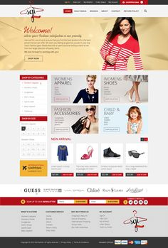 Here's a custom Big Commerce store we designed for popular #apparel seller SGI Fashions!