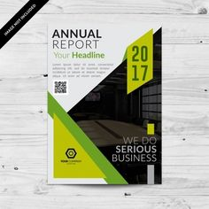 Business brochure with green details Report Design, Serious Business, Business Brochure, Lorem Ipsum, Iphone Wallpaper, Ads, Book, Cover, Green