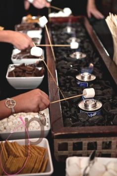 Indoor Smores Station- This Girl Is On Fire Theme Party??
