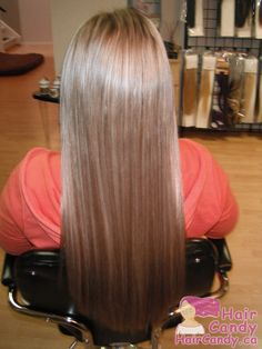 """Fan Friday: A set of 18"""" Indian Remy Italian Keratin U-tipped Premium Double Drawn Hair - After"""