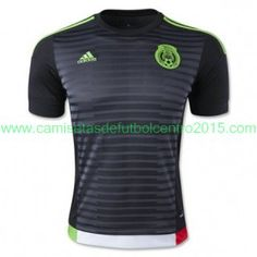 adidas mexico home jersey black green red