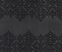 Bas-Relief garland nero di Ceramiche Mutina | Piastrelle