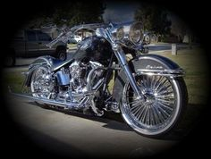 I would LOVE these rims for my Softail Deluxe!!!!!!